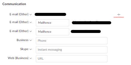 reset email address: step 4