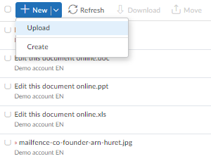 import data account documents step 2