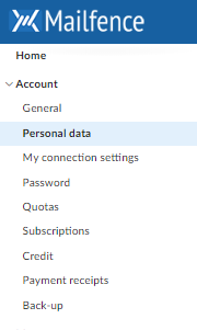 reset email address: step 2