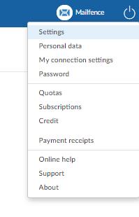 alias for sending emails: step 1