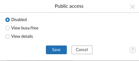 remove public access